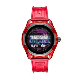 Diesel Смарт годинник Diesel Fadelite DZT2019 Red/Red