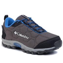 Columbia Трекінгові черевики Columbia Youth Firecamp Sledder 3 Wp BY1202 Dark Grey/Royal 089