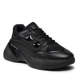 Pinko Laisvalaikio batai Pinko Rubino 10 Sneaker. AI 21-22 BLKS 1H20ZK Y6GD Black Z99