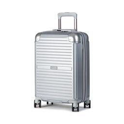 Puccini Мала тверда валіза Puccini Dallas PC027C 8 Silver
