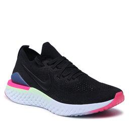 Nike Batai Nike Epic React Flyknit 2 BQ8928 003 Black/Black/Sapphire