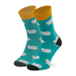 Dots Socks Високі чоловічі шкарпетки Dots Socks SX-465-X Зелений