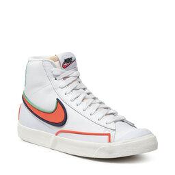 Nike Взуття Nike Blazer Mid '77 Infinite DA7233 102 White/Bright Crimson/Blue Void