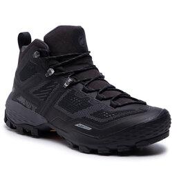 Mammut Трекінгові черевики Mammut Ducan Mid Gtx GORE-TEX 3030-03540-00288-1075 Black/Dark Titanium
