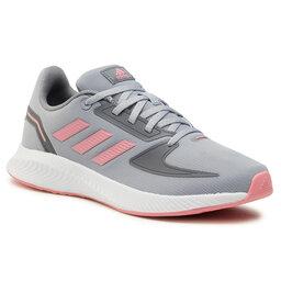 adidas Взуття adidas Runfalcon 2.0 K FY9497 Halo Silver/Super Pop/Grey Three