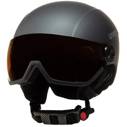 Uvex Шолом для сноуборду Uvex Hlmt 400 Visor Style 5662155005 Titanium Mat