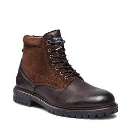 Pepe Jeans Черевики туристичні Pepe Jeans Ned Boot Comb Warm PMS50214 Brown 878