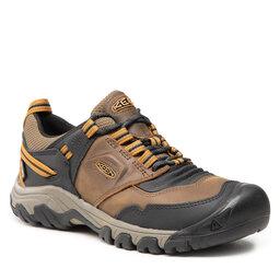 Keen Трекінгові черевики Keen Ridge Flex Wp M 1025667 Bison/Golden Brown
