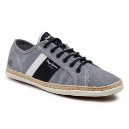 Pepe Jeans Еспадрильї Pepe Jeans Maui Blucher PMS30711 Chambray 564