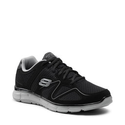 Skechers Снікерcи Skechers Flash Point 58350/BKGY Black/Gray