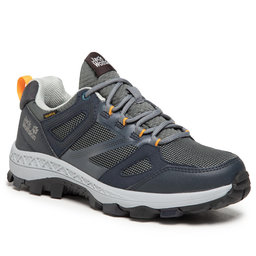 Jack Wolfskin Трекінгові черевики Jack Wolfskin Downhill Texapore Low W 4044151 Dark Blue/Grey