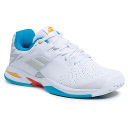 Babolat Взуття Babolat Propulse Ac Junior 33S21478 White/Diva Blue
