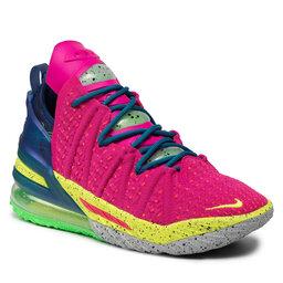 Nike Batai Nike Lebron XVIII DB8148 600 Pink Prime/Multi Color