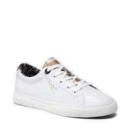 Pepe Jeans Кросівки Pepe Jeans Kenton Plain PLS31235 White 800
