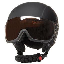 Uvex Шолом для сноуборду Uvex Hlmt 400 Visor Style 5662152005 Black Mat