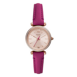 Fossil Годинник Fossil Carlie Mini ES5006 Pink/Gold