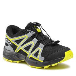 Salomon Взуття Salomon Speedcross J 414471 09 M0 Black/Black/Evening Primrose