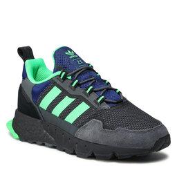 adidas Взуття adidas Zx 1K Boost - Seasonality H00430 Grey Six/Screaming Green/Core Black