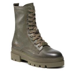 Tommy Hilfiger Žygio batai Tommy Hilfiger Monochromatic Lace Up Boot FW0FW05946 Army Green RBN