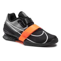 Nike Batai Nike Romaleos 4 CD3463 018 Anthracite/White/Total Orange
