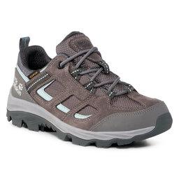 Jack Wolfskin Трекінгові черевики Jack Wolfskin Vojo 3 Texapore Low W 4042451 Tarmac Grey/Light Blue