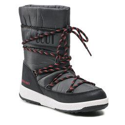 Moon Boot Sniego batai Moon Boot Jr Boy Sport Wp 34051300005 D Black/Castlerock