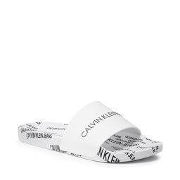 Calvin Klein Jeans Шльопанці Calvin Klein Jeans Slide Institutional Tpu YM0YM00074 Bright White YAF