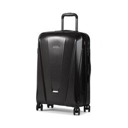 Wittchen Середня тверда валіза Wittchen 56-3P-122-85 Чорний