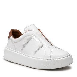 Clarks Laisvalaikio batai Clarks Hero Lite Slip 261615254 White Leather