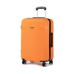 Ochnik Vidutinio Dydžio Kietas Lagaminas Ochnik WALAB-0040-24 Oranžinė
