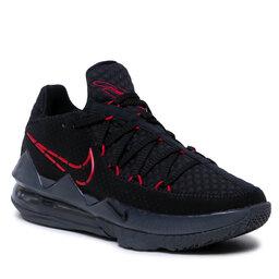 Nike Batai Nike Lebron XVIII Low CD5007 001 Black/University Red/Red-Dark Grey
