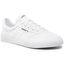 adidas Batai adidas 3Mc B22705 Ftwwht/Ftwwht/Goldmt