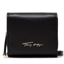 Tommy Hilfiger Rankinės Tommy Hilfiger Iconic Tommy Mini Wallet Sign AW0AW10554 BDS
