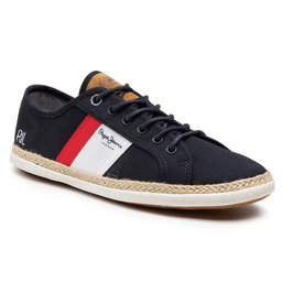 Pepe Jeans Еспадрильї Pepe Jeans Maui Blucher PMS30710 Navy 595