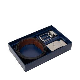 Polo Ralph Lauren Набір подарунковий Polo Ralph Lauren 35mm Rvrs Blt Gftbx 405699144001 Blk/Sadle