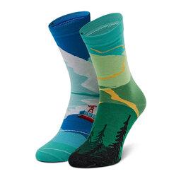 Cup of Sox Високі шкарпетки unisex Cup of Sox Góromaniak Зелений