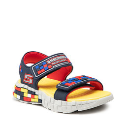 Skechers Босоніжки Skechers Craft Sandal 400070L/NVRD Navy/Red