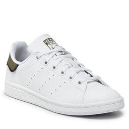 adidas Взуття adidas Stan Smith J GZ9925 Ftwwht/Focoli/Ftwwht