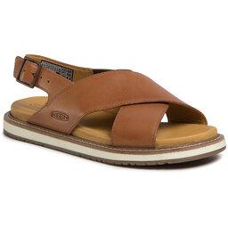 Keen Босоніжки Keen Lana Cross Strap Sandal 1022585 Tortoise Shell/Silver Brich
