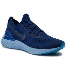 Nike Batai Nike Epic React Flykint 2 BQ8928 400 Blue Void/Blue Void