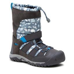 Keen Sniego batai Keen Winterport Neo Dt Wp 1025586 Steel Grey/Brilliant Blue