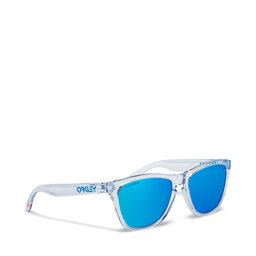Oakley Сонцезахисні окуляри Oakley Frogskin 0OO9013-D055 Crystal Clear/Prizm Sapphire