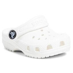 Crocs Шльопанці Crocs Classic Clog K 204536 White