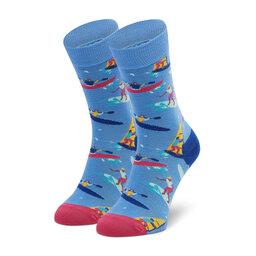 Happy Socks Високі шкарпетки unisex Happy Socks SWAT01-6300 Голубий