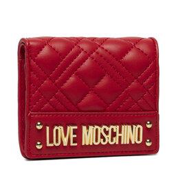LOVE MOSCHINO Maža Moteriška Piniginė LOVE MOSCHINO JC5601PP0DLA0500 Rosso
