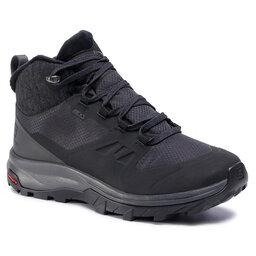 Salomon Трекінгові черевики Salomon Outsnap Cswp W 411101 20 V0 Black/Ebony/Black