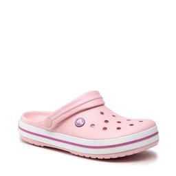 Crocs Шльопанці Crocs Crocband 11016 Pearl Pink/Wild Orchid