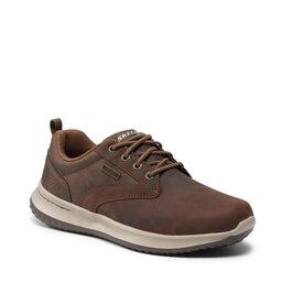 Skechers Туфлі Skechers Antigo 65693/CDB Dark Brown