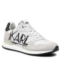 KARL LAGERFELD Снікерcи KARL LAGERFELD KL52916 White Lthr W/Black