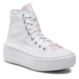 Converse Sportbačiai Converse Ctas Move Hi 571577C White/Pink Foam/White